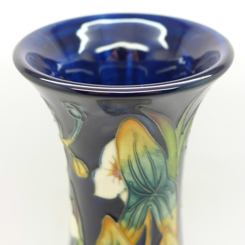 618 - A Moorcroft Elfin Beck limited edition vase, designed by Philip Gibson, dated 2001, numbered 207/250...