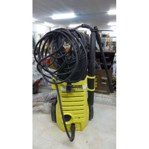 2012 - Karcher K2.38 pressure washer with hose and lance - W...