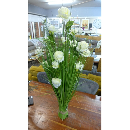 1313 - A 100cm sheaf of white roses  (2603316)...