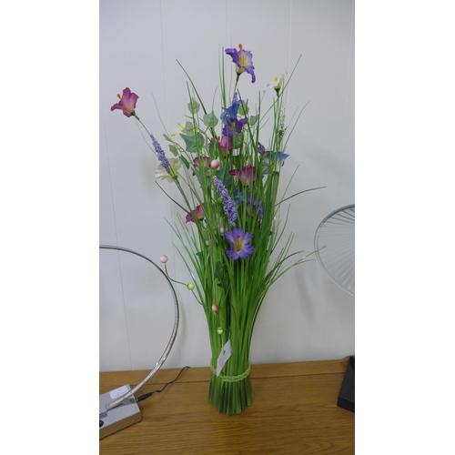 1419 - A 70cm grass sheaf of mixed flowers (2361109)   #...