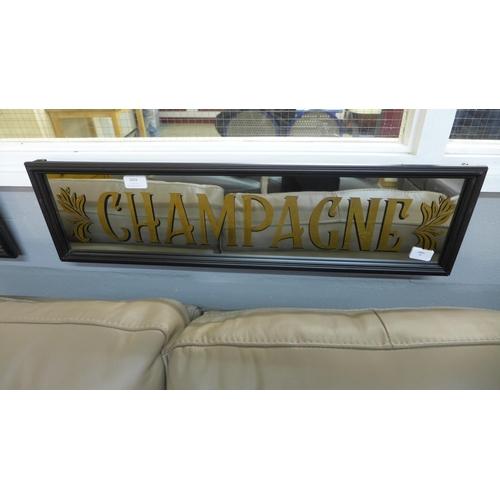 1424 - A champagne mirror sign (TJN028811)   #...