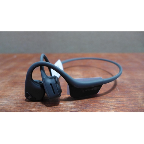 3009 - A pair of Trekz Air Grey Wireless Headphones 301812(185-37)  *This lot is subject to vat...
