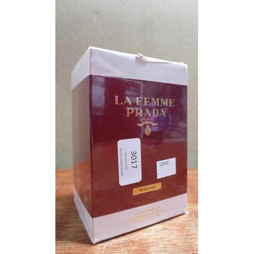 3017 - A Prada La Femme Intense 100ml Edp   300216/112  *This lot is subject to vat...