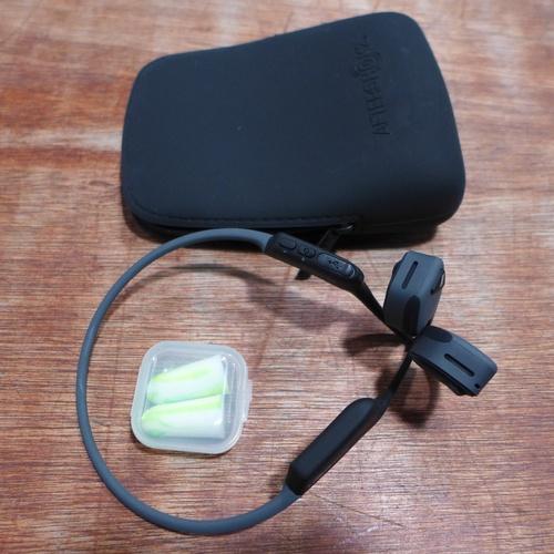 3002 - A pair of Aftershokz Trekz Titanium Wireless Headphones, RRP £64.99 + Vat - 257265(185-121)  *This l...