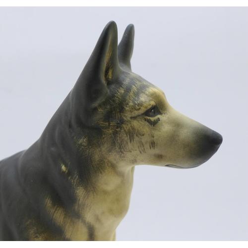 627 - A Beswick figure of a dog, Ch. Ulrica of Brittas