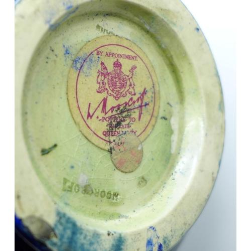 631 - A Moorcroft bowl, 15.5cm, a/f