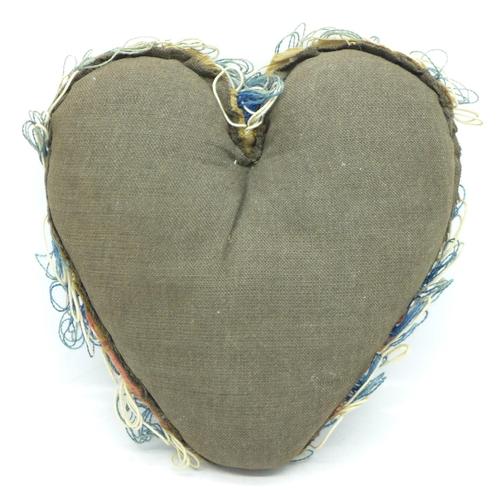 643 - A WWI period sweetheart pin cushion...