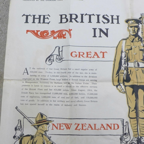 649 - A WWI poster