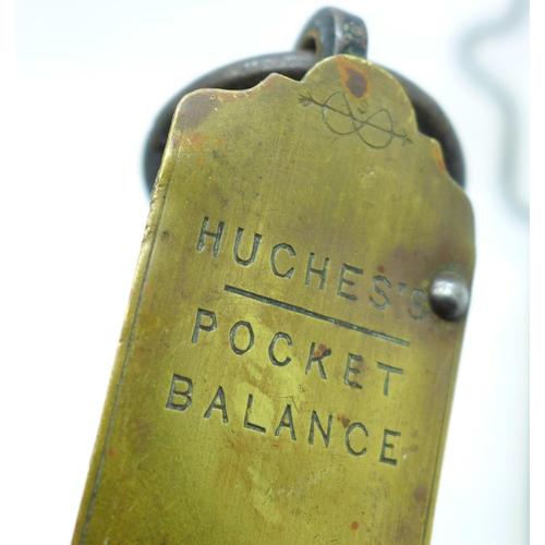 660 - Salter balances and a Salter pocket balance (5)...