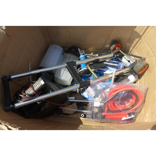 2009 - Box of assorted Clarke tools, a/f...
