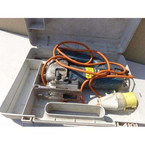 2033 - 110v Bosch jigsaw in case - W...
