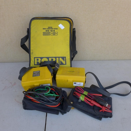 2053 - Robin 1610 electrical multi-function tester with leads - W...