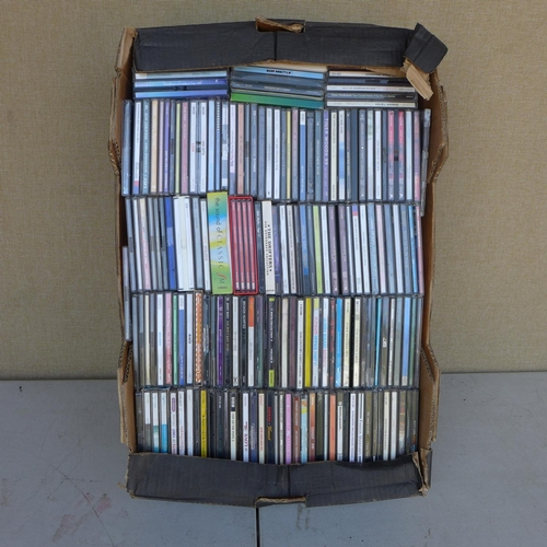 2060 - 4 Boxes of CD's - at least 300 in total