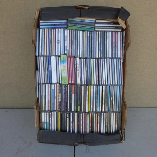 2061 - 4 Boxes of CD's - at least 300 in total...