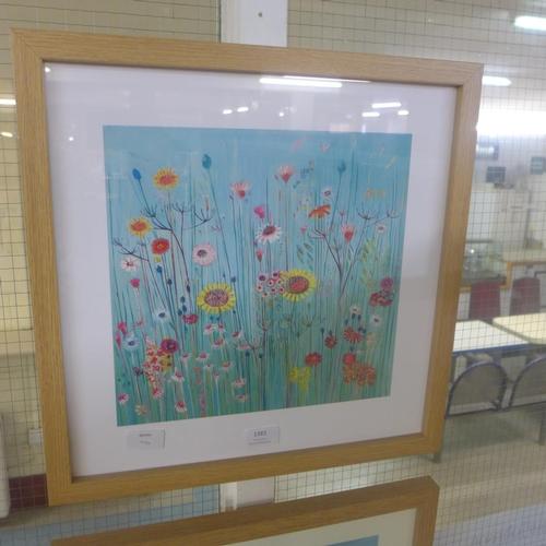 1383 - A print, Picnic Days by Shyana Ruffell, 40 x 40cm (PPR4573714)   #...