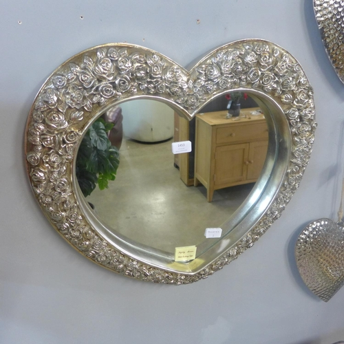 1453 - A champagne heart mirror (MR067CH36)   #...