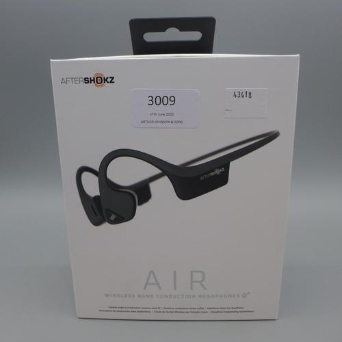 3009 - Trekz Air Grey Headphones   (369)  (Ajs 187)  Rrp £69.99 + Vat * This Lot Is Subject To Vat