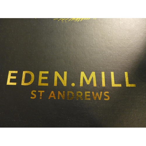 3036 - An Eden Mill St Andrews gift box (contains 12 x 5cl gins and 2 x tulip gin glasses), RRP £79.99 *Thi...