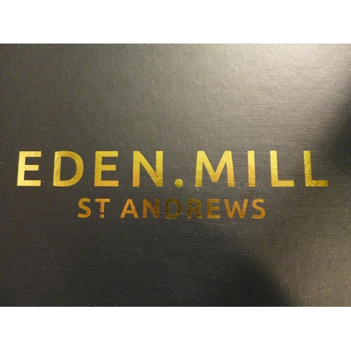 3038 - An Eden Mill St Andrews gift box (contains 12 x 5cl gins and 2 x tulip gin glasses), RRP £79.99 *Thi...