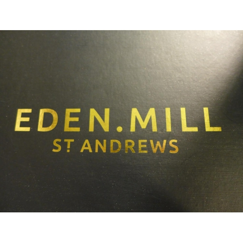 3039 - An Eden Mill St Andrews gift box (contains 12 x 5cl gins and 2 x tulip gin glasses), RRP £79.99 *Thi...