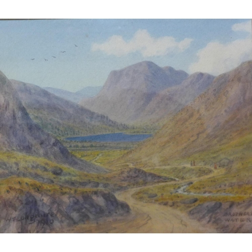 12 - William Taylor Longmire (1841-1914), Brothers Water, Westmorland, watercolour, 19 x 22cms, framed...
