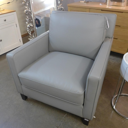 1368 - A West Park grey armchair (297444) - RRP £666.66 + VAT - this lot is subject to VAT...
