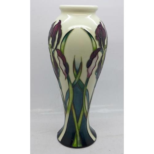 606 - A Moorcroft vase, with box, Collectors Club edition, 21cm...