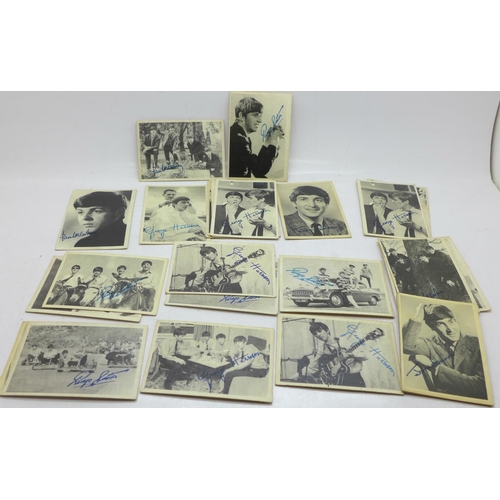 639 - 1960's Beatles ABC cards (32)...