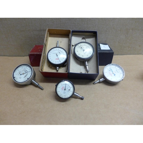2008 - 5 Assorted dial gauges...