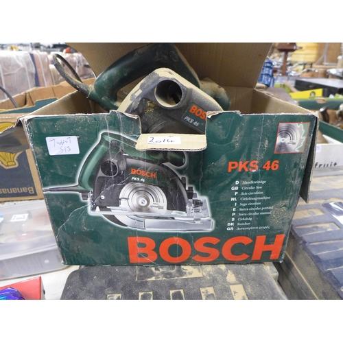 2014 - Bosch PK5 46 240v circular saw - boxed...