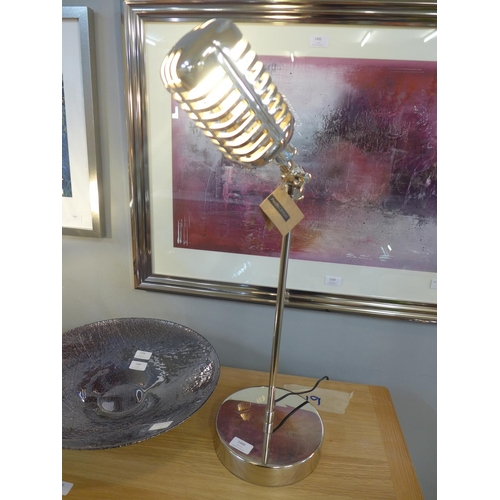 1488 - A 'microphone' table lamp (3066052)   #...