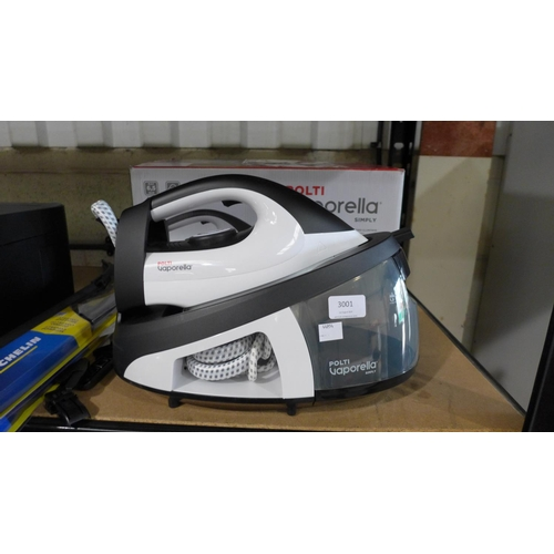 3001 - A Polti Vaporella Steam Generating Iron   (193-30)  * This lot is subject to VAT...