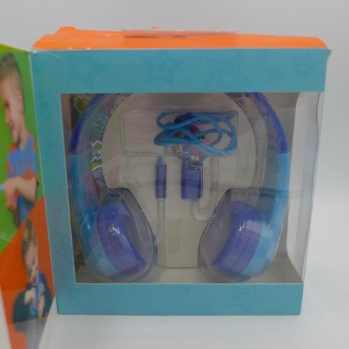 3020 - Pair of children's Motorola Headphones   (194-78) * This lot is subject to VAT...