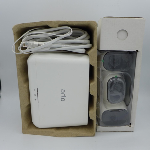 3040 - An Arlo 3 Cctv System, RRP £449.99 + VAT             (194-161) * This lot is subject to VAT...