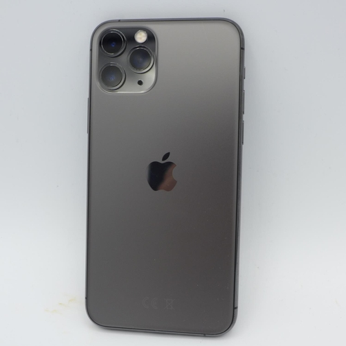 3044 - An Apple iPhone 11 Pro wih box, headphones and charging lead - model:- MT9F2BIA, 64GB, space grey, s...