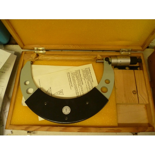 2002 - A micrometer, boxed