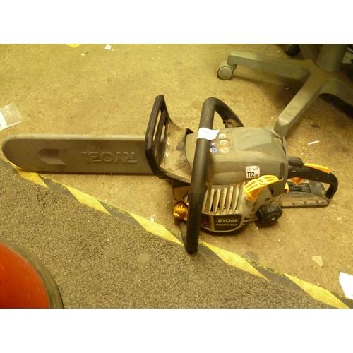 2009 - Ryobi petrol chainsaw - W
