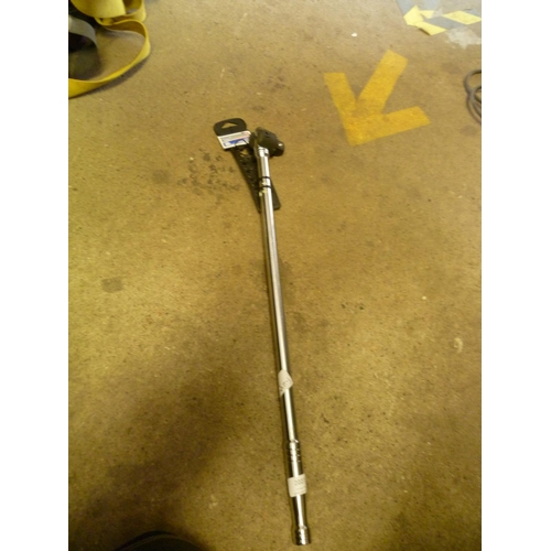 2027 - Draper 640mm swivel bar - tagged & unused * This lot is subject to VAT