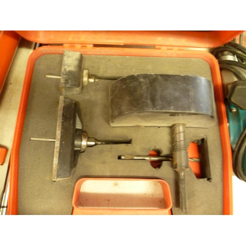 2029 - SDS socket cutting kit - in case