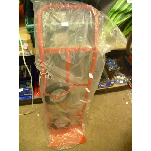 2031 - Red sack trolley - unused - * this lot is subject to VAT