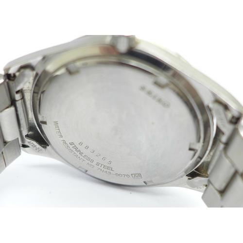 1001 - A Seiko wristwatch...