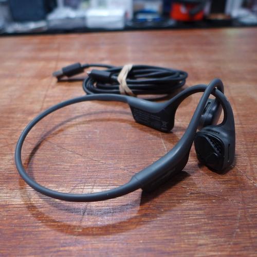 3164 - Trekz Air Grey Headphones * This Lot Is Subject To Vat (Ajs6-498)...