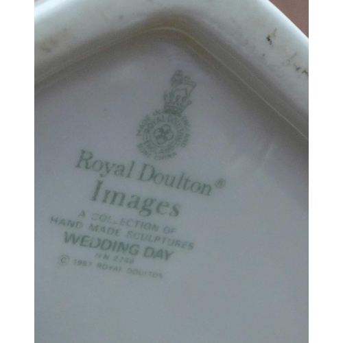611 - A Royal Doulton Images figure, Wedding Day...