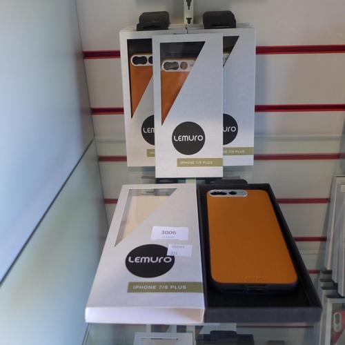 3006 - Ten Lemuro iPhone 7/8plus  mobile phone cases ( light tan )...