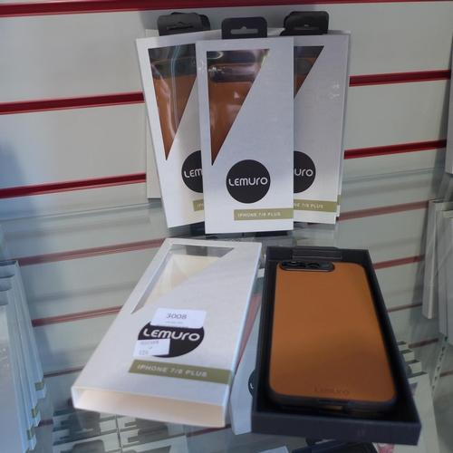 3008 - Ten Lemuro iPhone 7/8plus  mobile phone cases ( dark tan )...