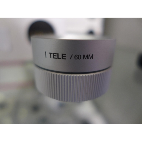 3015 - Five Lemuro tele/60mm silver lenses...