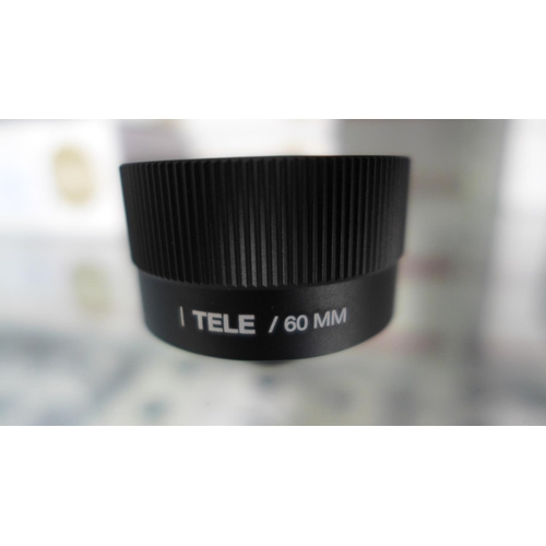 3018 - Five Lemuro Tele/60mm black lenses...