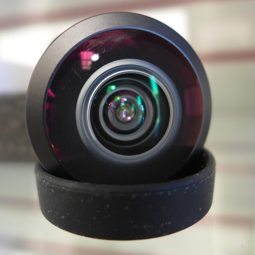 3030 - Five Lemuro Fisheye/8mm black lenses...