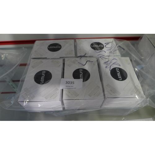 3035 - Five Lemuro Wide/18mm silver lenses...