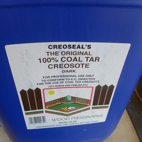2063 - 20ltr Drum of Creoseal's The Original 100% Coal Tar Creosote - Dark (trade sale only)...